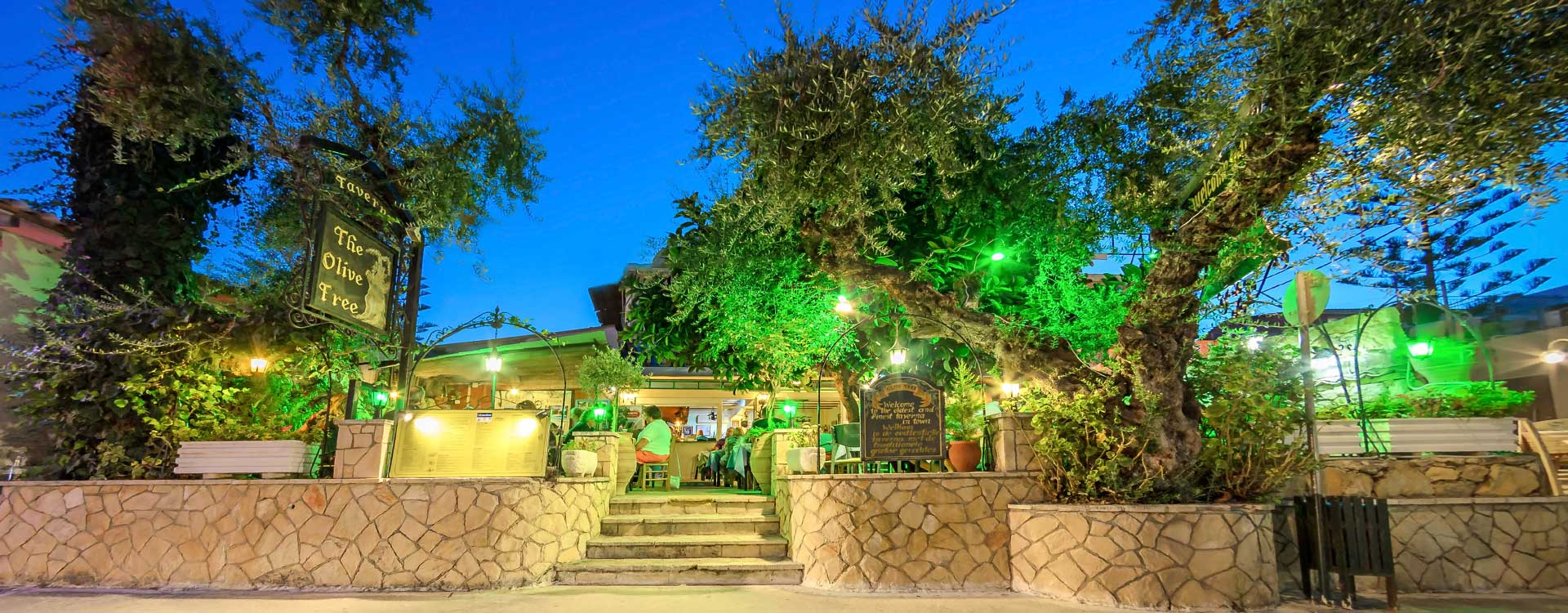 welcome to the olive tree taverna